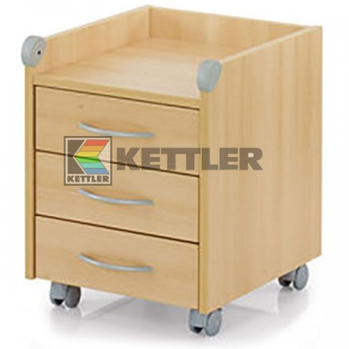 Тумбочка Kettler Roll On Beech, код: 06761-211