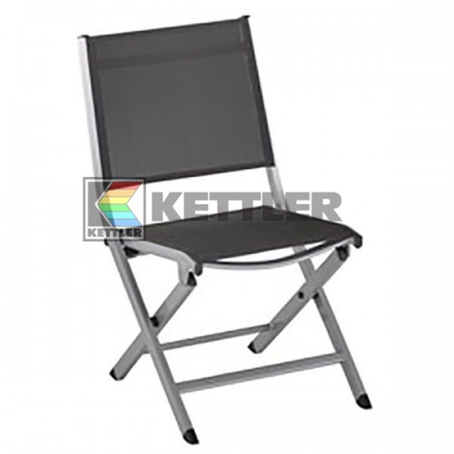 Стул Kettler Lille Comfort Folding Anthracite, код: 0310118-0010