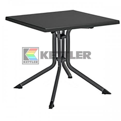 Стол Kettler Kettalux Plus 800х800 мм Anthracite, код: 0307018-7000