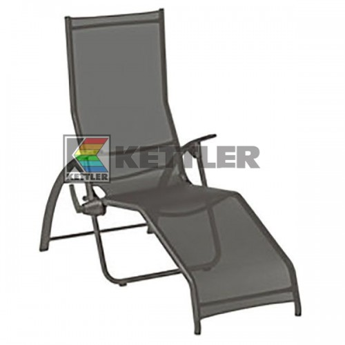 Шезлонг Kettler Tampa Pool Lounger Anthracite, код: 01710-030