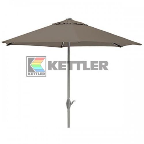 Зонтик Kettler 3000 мм Wind-Up Taupe, код: 0106042-0400