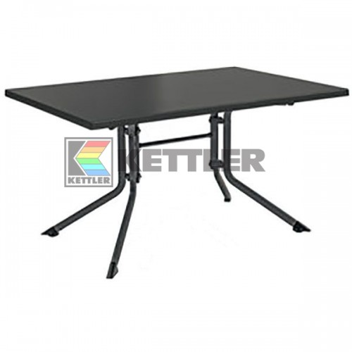 Стол Kettler Kettalux Plus 1600х950 мм Anthracite, код: 0307021-7000