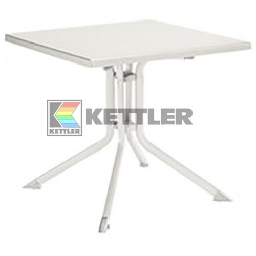 Стол Kettler Kettalux Plus 800х800 мм White, код: 0307018-5000