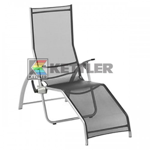 Шезлонг Kettler Tampa Pool Lounger Anthracite, код: 01717-010