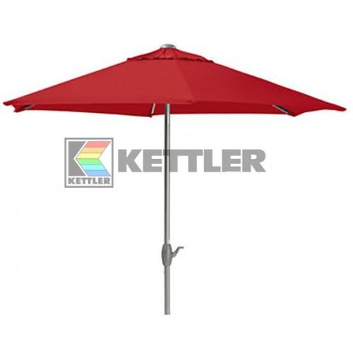 Зонтик Kettler 3000 мм Wind-Up Red, код: 0106042-0500