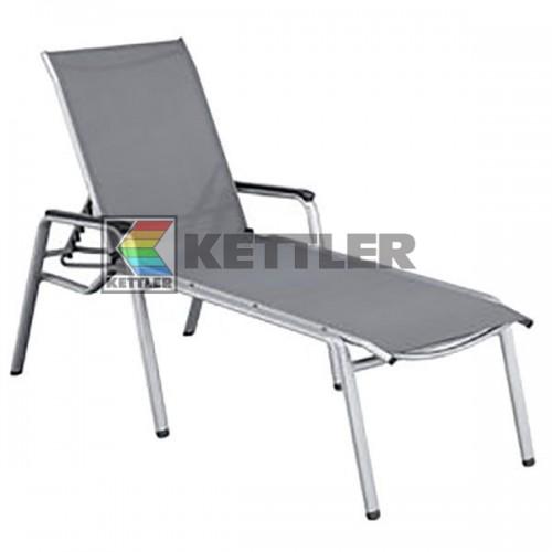 Шезлонг Kettler Cirrus Silver, код: 0100314-0000