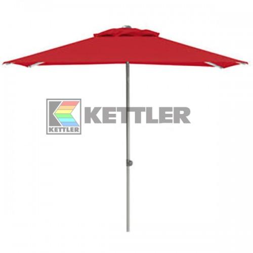 Зонтик Kettler 2000x2000 мм UPF 50+ Red, код: 0306022-0500