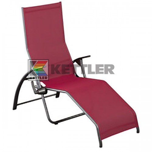 Шезлонг Kettler Tampa Pool Lounger Bordeaux, код: 01710-720