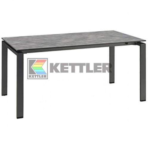 Стол Kettler HPL 1600/2100х950 мм Anthracite, код: 0101735-7200