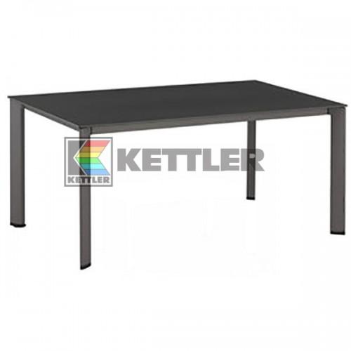 Стол Kettler Kettalux Plus 1600х950 мм Anthracite, код: 03843-817
