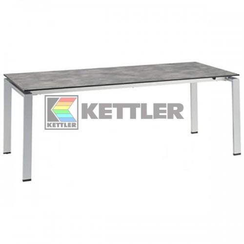 Стол Kettler HPL 2000/2500/3000х950 мм Silver, код: 0101740-0200