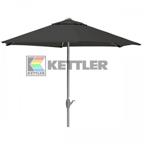 Зонтик Kettler 3000 мм Wind-Up Anthracite, код: 0106042-0700