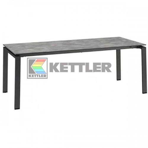 Стол Kettler HPL 2000/2500/3000х950 мм Anthracite, код: 0101740-7200