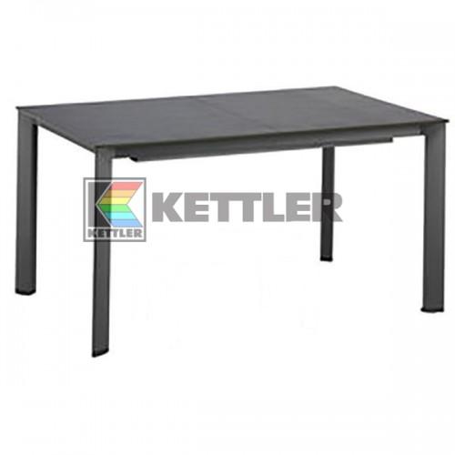 Стол Kettler Kettalux Plus 1590/2190х700 мм Anthracite, код: 0101923-7500