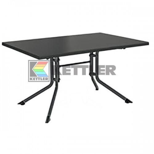 Стол Kettler Kettalux Plus 1400х950 мм Anthracite, код: 0307020-7000
