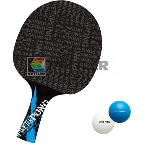 Ракетка для настольного тенниса Kettler SketchPong, код: 7092-100