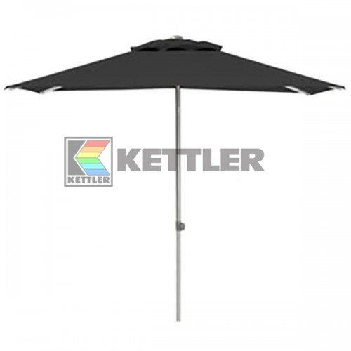 Зонтик Kettler 2000x2000 мм UPF 50+ Anthracite, код: 0306022-0700