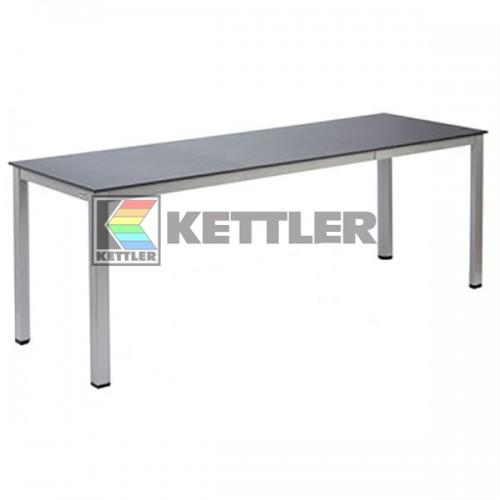 Стол Kettler Kettalux Plus 1400/2100х700 мм Silver, код: 0301822-0500