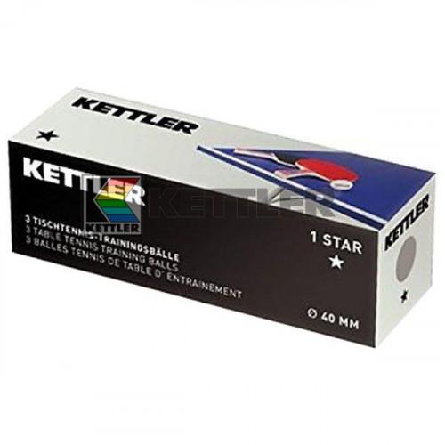 Мячи для настольного тенниса Kettler, код: 7221-400