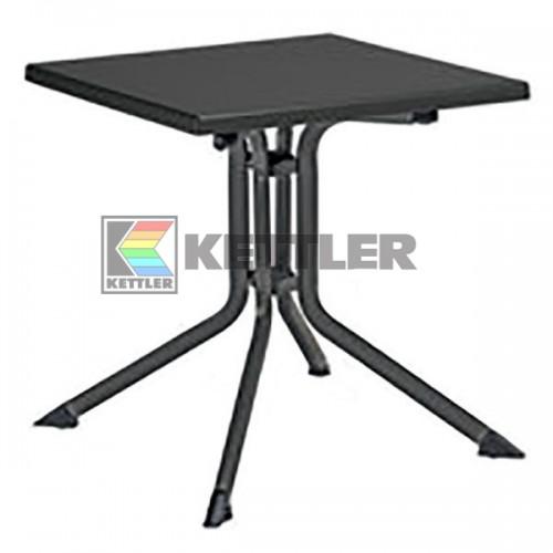 Стол Kettler Kettalux Plus 700х700 мм Anthracite, код: 0307013-7000