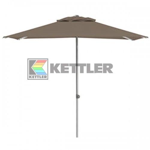 Зонтик Kettler 2000x2000 мм UPF 50+ Taupe, код: 0306022-0400