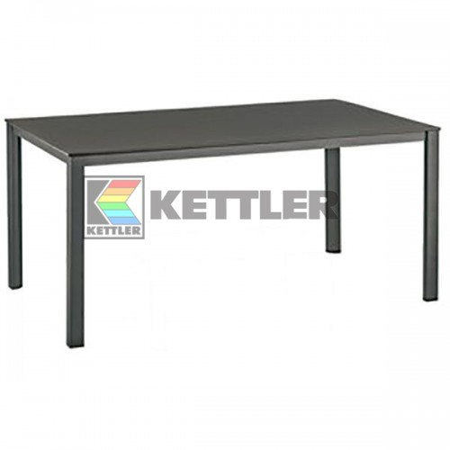 Стол Kettler Kettalux Plus 1600х950 мм Anthracite, код: 0301821-7000