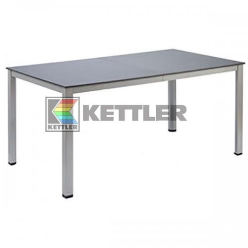 Стол Kettler Kettalux Plus 1590/2190х940 мм Silver, код: 0301823-0510