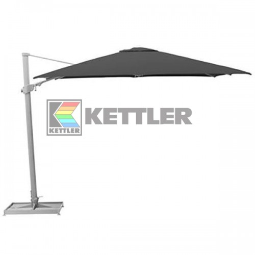 Зонтик Kettler 3000x3000 мм Right-Left Anthracite, код: 0106049-0700
