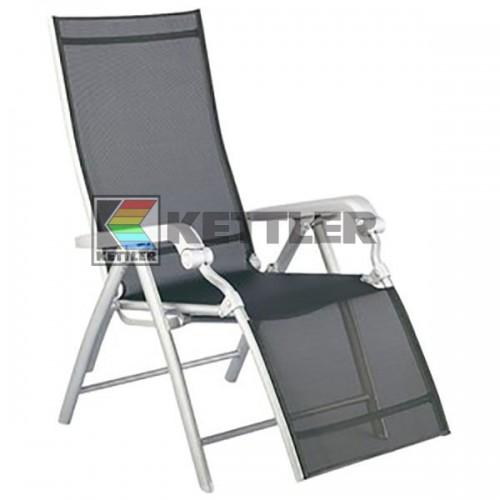 Кресло Kettler Lucca Relaxer Silver, код: 01590-000
