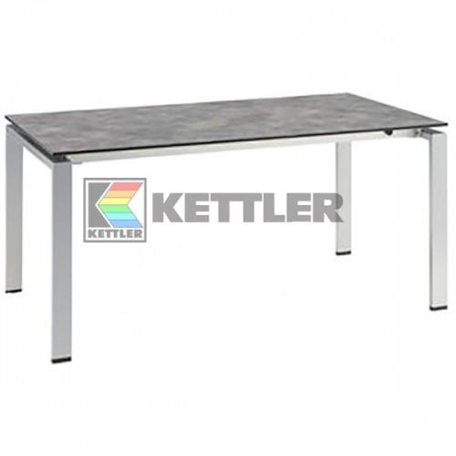Стол Kettler HPL 1600/2100х950 мм Silver, код: 0101735-0200