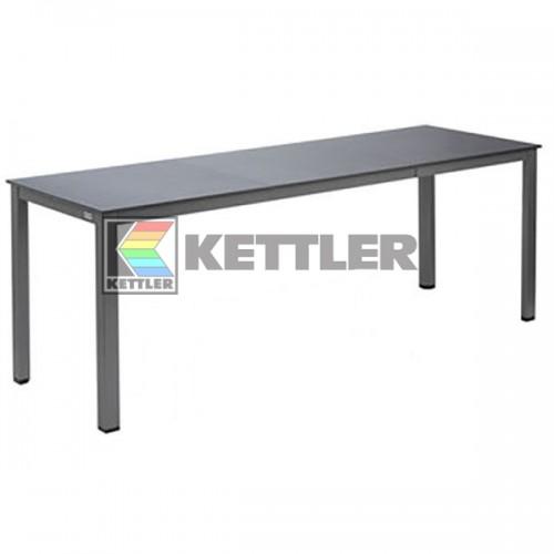 Стол Kettler Kettalux Plus 1400/2100х700 мм Anthracite, код: 0301822-7500