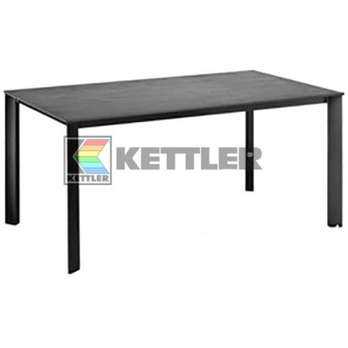Стол Kettler Kettalux Plus 1600х700 мм Anthracite, код: 0101920-7500