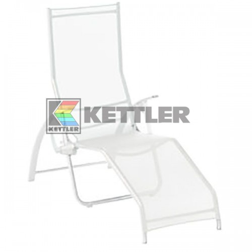 Шезлонг Kettler Tampa Pool Lounger White, код: 01710-000