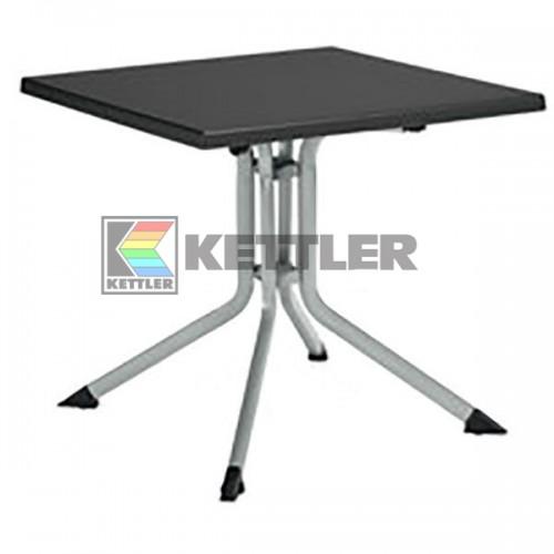 Стол Kettler Kettalux Plus 800х800 мм Silver, код: 0307018-0000