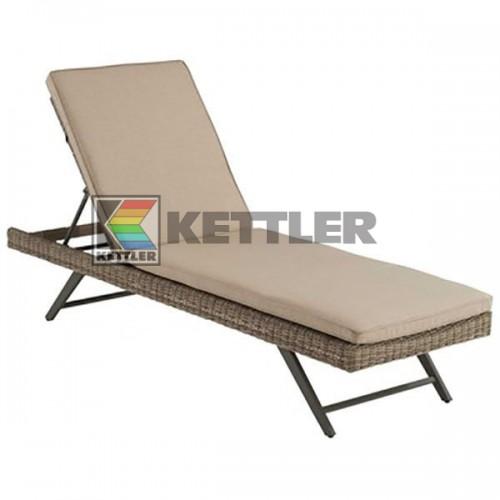Шезлонг Kettler Bretagne Sand, код: 0102714-2500
