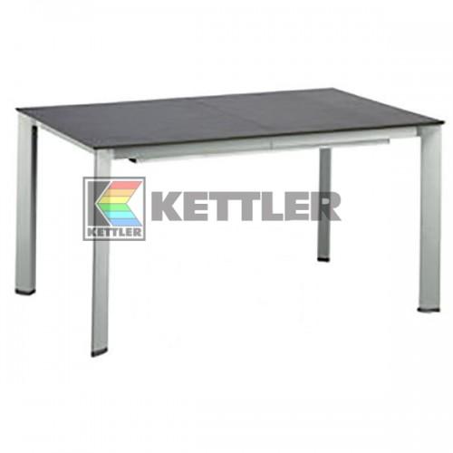 Стол Kettler Kettalux Plus 1590/2190х700 мм Silver, код: 0101923-0500