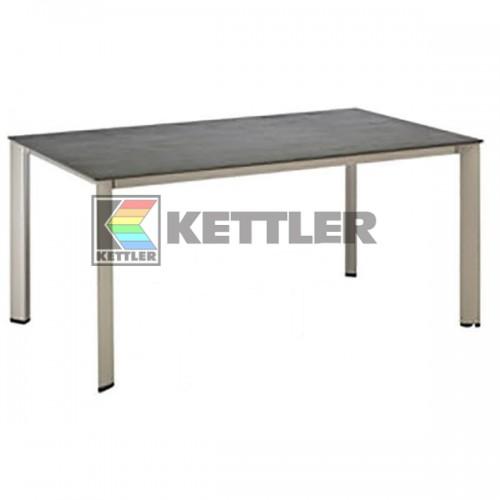 Стол Kettler Kettalux Plus 1600х700 мм Silver, код: 0101920-0500
