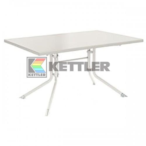 Стол Kettler Kettalux Plus 1400х950 мм White, код: 0307020-5000